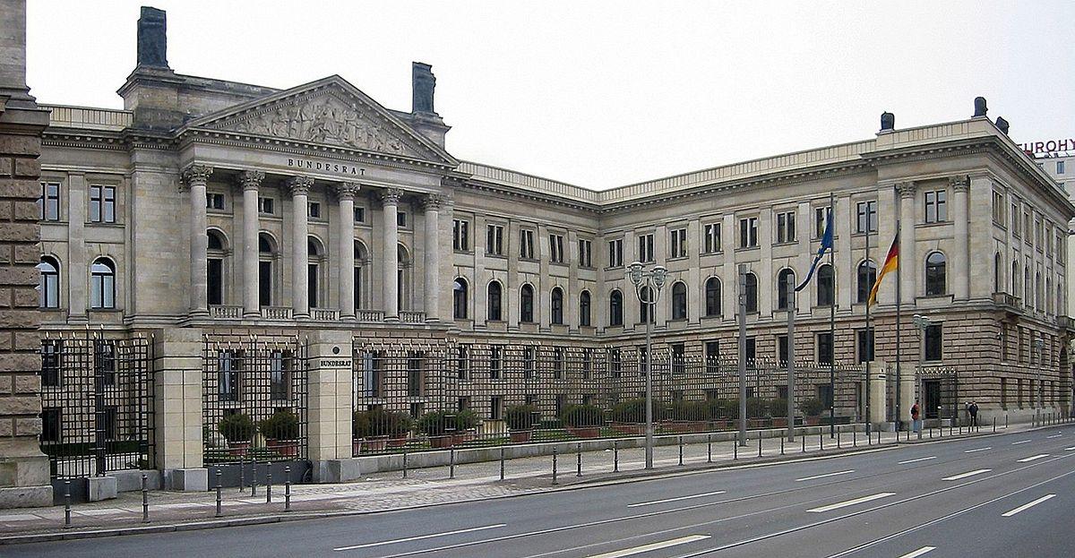 ベルリンの連邦参議院の議事堂